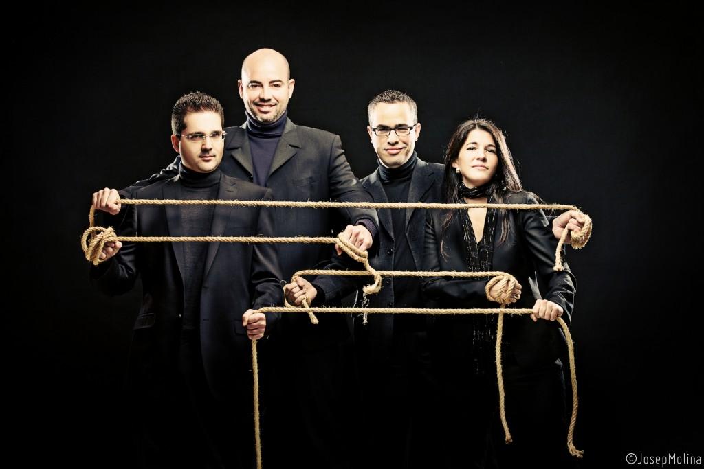 Cuarteto Quiroga on the strings